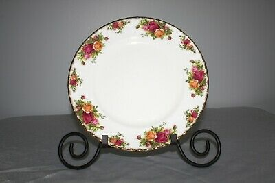 """Royal Albert Old Country Roses Bone China England 1962 Dinner Plate 10.5"""""""