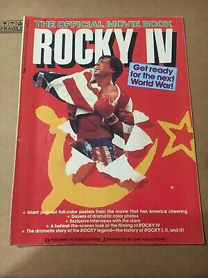 Rocky IV The Official Movie Book