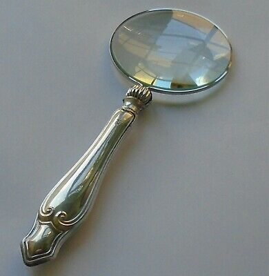Henry Williamson HM Silver Handle Magnifying Glass Sheffield 1912