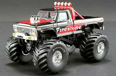 ACME Greenlight 1974 Ford F-250 Bigfoot Monster Truck Firestone 1:64 51272