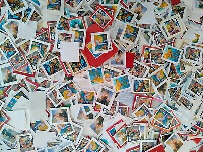 2nd Class Christmas x 1000 USED no postmark unfranked stamps on paper