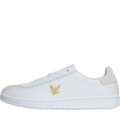 Lyle And Scott Vintage Mens Cooper Trainers White 7 UK / 41 EU