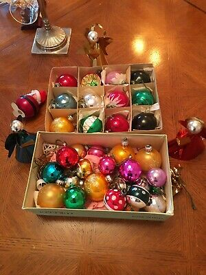 Vintage Mixed Style Beautiful ,Christmas Baubles Decoration Joblot