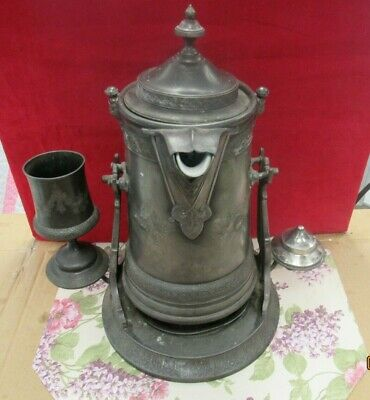 Reed + Barton Silver Plated Coffee Pot Pitcher(14435-ups-ay)
