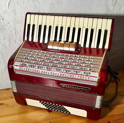 Ancien ACCORDÉON Marque WELTMEISTER Made in Germany