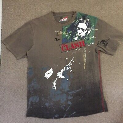 Vintage The Clash T-Shirt. Very Rare Style. Only one on Ebay