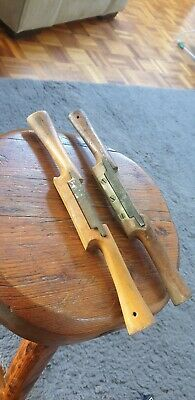 Antique D.e.lather & Sons Rare Spokeshaves Sheffield England