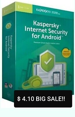 Kaspersky INTERNET Security 2019 / 2020 1 Equipo / 1 Year / Para - ANDROID