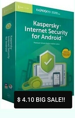 Kaspersky Internet Security  For Android / 1 DEVICE / 1 YEAR  BIG SALE!! 4.10$