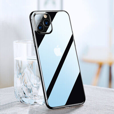 Crystal Clear Case For iPhone 11 Pro Max Protector Shockproof Hard Shell Cover