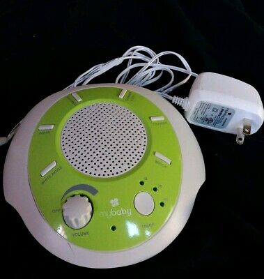 Homedics My Baby Sound Machine 6 Different Sounds Infant Sleep Sound Spa