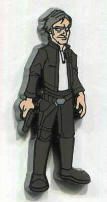 2019 Star Wars Celebration Chicago OLD HAN SOLO VARIANT CHASE Mystery Pin Disney