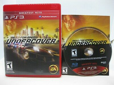NEED FOR SPEED: Undercover (Sony PlayStation 3, 2008) PS3 Complete - Tested