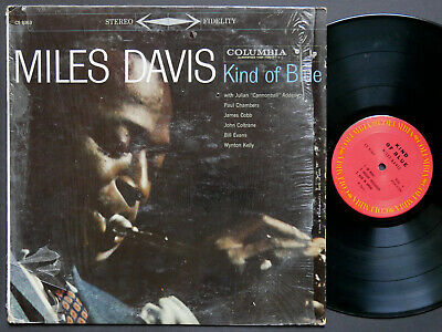 MILES DAVIS Kind Of Blue LP COLUMBIA CS 8163 US 1977 Bill Evans John Coltrane RE