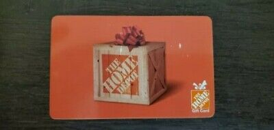 $100 Home Depot Physical Gift Card FREE SHIPPING with Tracking