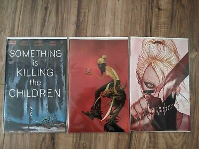 SOMETHING IS KILLING THE CHILDREN #1 1st Print Cover A, B, C Sold Out