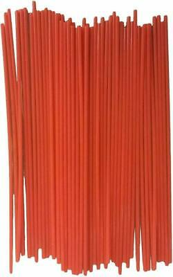 Jquad (50 Pack) Aerosol Spray Can Red Plastic Straws - Tip Extension Tubes Fo...