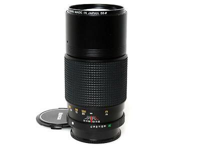 Konica Hexanon AR 200mm F4 MF Telephoto Prime Lens Excellent from Japan F/S