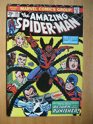 Amazing Spiderman #135, 2Nd Full Appearance Of The Punisher.