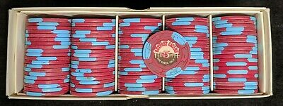 1 Rack of Outpost Casino $5 Paulson Chips - San Ramon California