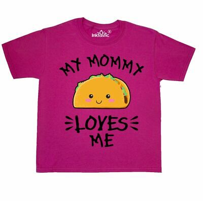 inktastic My Little Cousin Loves Me with Taco Illustration Long Sleeve Creeper