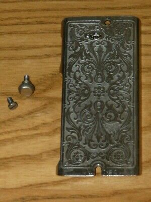 Singer Sewing Machine 99-13 Scrolled Ornate Front Plate #33663