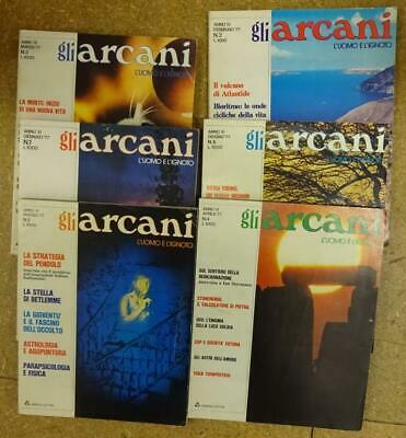 Gli Arcani Magazines . 31 from the 70s. Some in chronological order but not all.