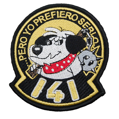 Spain Ejercito Del Aire Patch 141 Sqn 14 Wing Albacete Ab Double Velcro Back