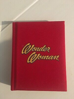 Woman Woman Address Book New Red Fabric Vintage Comic Images Memorabilia
