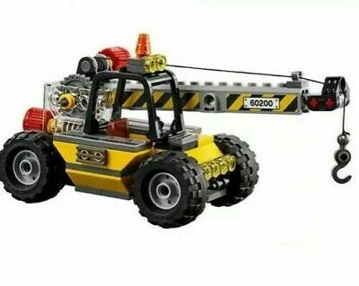 LEGO City Mobile Telehandler Construction Crane Train Town Scenery 60197 60198