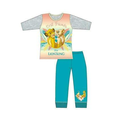 Official Licensed Girls Disney The Lion King Long Pyjamas Pjs Age 4-10 Years