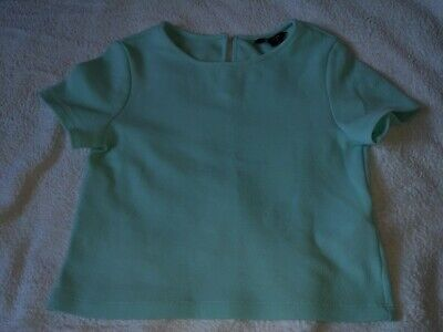 girls mint green crop top age 11 years from new look used in good condition