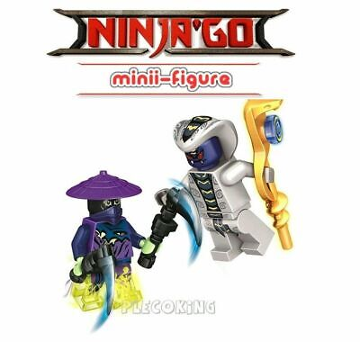 NINJAGO - RATTLER SNAKE vs GHOST WARRIOR COWLER - fits lego figure (G6)
