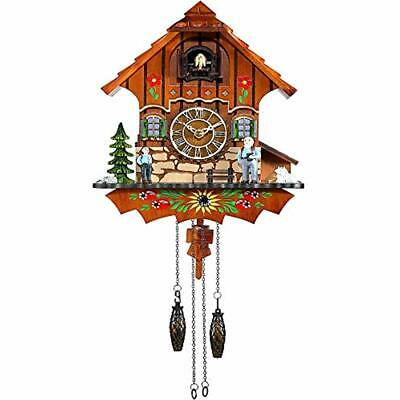 Cuckoo Clock Black Forest Antique Quartz Pendulum Wall Home Decor &amp Kitchen
