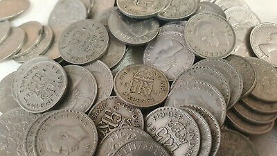 British Old Pre-Decimal Cupronickle Sixpence Coin Choose Your Date 1947 - 1967