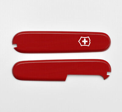 Victorinox Swiss Army Knife 91Mm Scales/Handles Red C.3600.3 + C.3600.4