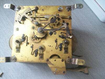 Vintage Whittington / Westminster Haller clock movement only spares / repair