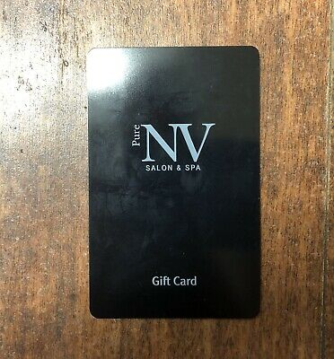 Pure NV Salon & Spa Gift Card - $100 Mail Delivery