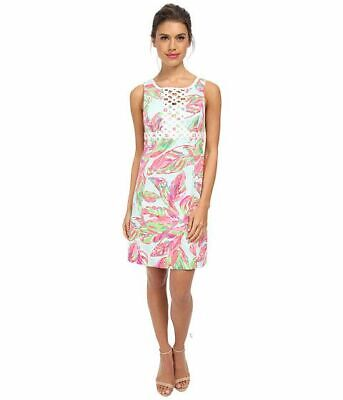 Lilly Pulitzer NWT Rosie Shift Dress Multi in the Vias 8 10 12 14