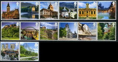 Gb 2012 Uk A-Z Part 2 Set Of 14 Unmounted Mint Sg 3294 - 3307