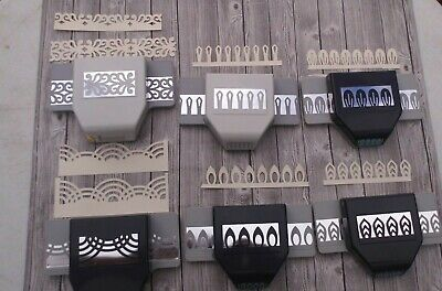 EK succes punches borders, flower makers/ Lot of 6 punches