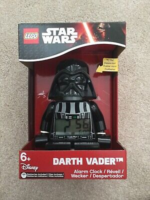Lego Star Wars Darth Vader Alarm Clock Brand New