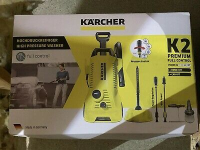 Karcher K2 Premium Full Control Car & Home Pressure Washer - Used Once