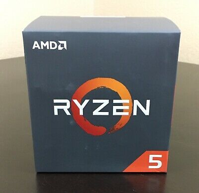 AMD RYZEN 5 2600X 6-Core 3.6 GHz (4.2GHz Max Boost) Socket AM4 95W YD260XBCAFBOX