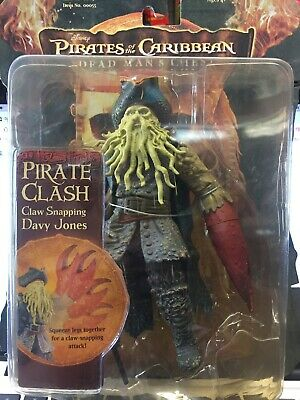 Pirates Of The Carribean Dead Mans Chest Davy Jones Action Figure By Zizzle