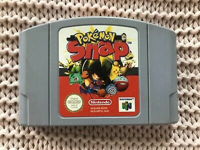 Pokemon Snap - N64 AUS PAL - Free Postage - Like New - Nintendo 64 Game