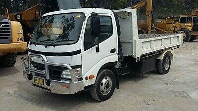 HINO 6500 GVM 3400 Tare Dutro Dump Tipper 6 Speed 3 Way Tailgate WON'T FAULT IT