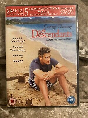 The Descendants (DVD, 2012)   New And Sealed