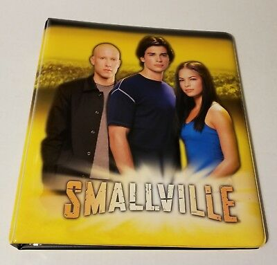 SMALLVILLE Season 3 Official Trading card 3-ring  Padded Binder  by INKWORKS
