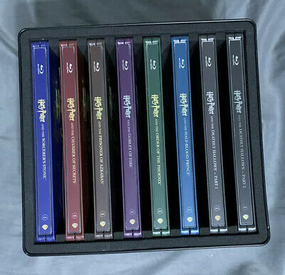 Harry Potter Complete 8-Film Collection Bluray Steelbook Set